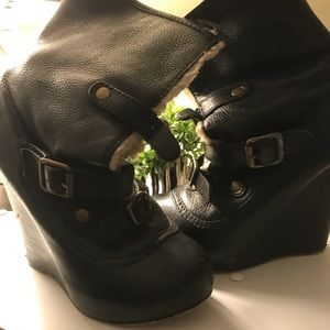 Betsey Johnson Aviator Boots